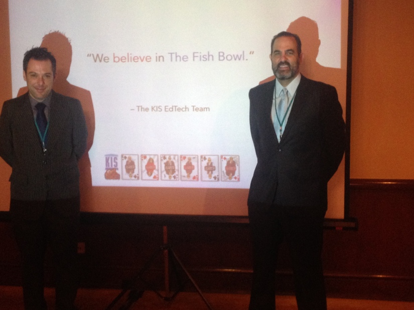 The Fish Bowl – Professional Development that Works – EARCOS Leadership 2014 Conference